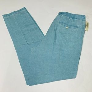 Tommy Bahama Pants Size Large 34 Inseam Linen New